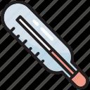 fever, temperature, thermometer, fahrenheit, equipment, covid, hot