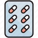 pills, strip, capsules, medicine, pharmacy, drug, healthcare