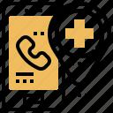 call, emergency, police, smartphone, urgent