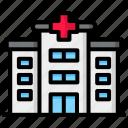 hospital, building, clinic, medical, healthcare