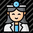 hospital, female, doctor, woman, girl, avatar