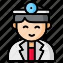 hospital, male, doctor, man, avatar