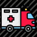 hospital, ambulance, emergency, medical, clinic