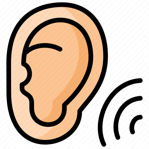 Hospital, hearing, test, organs, ear icon - Download on Iconfinder