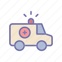 ambulance, health, hospital, medical icon