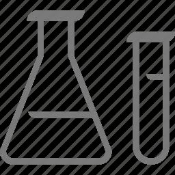 flask, hospital icon