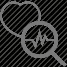 beat, heart, hospital icon