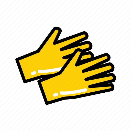 gloves, hospital, latex, medical, medical gloves, rubber gloves, surgery icon