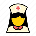 health care, hospital, medical, nurse, patient care icon