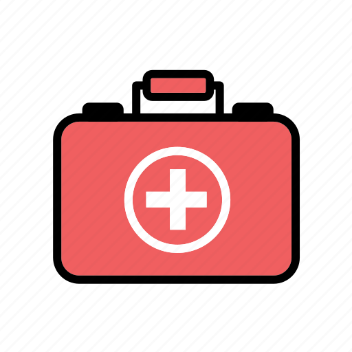 bag, box, first-aid kit, hospital, medical, nursing, nursing bag icon