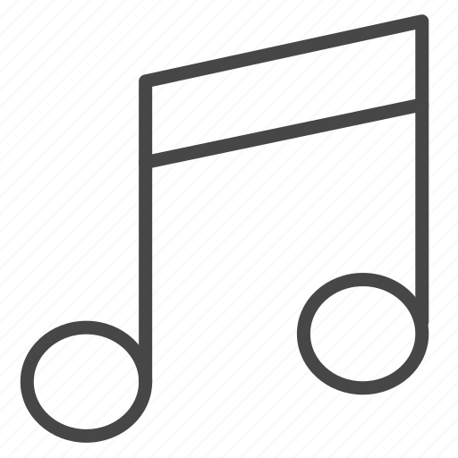 audio, facility, melody, multimedia, music, note, song icon