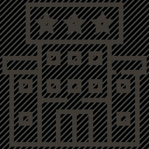 accomidation, architecture, building, hotel, motel icon