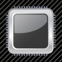 chip, comp, computer, pc, processor icon