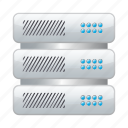data, network, server, storage icon