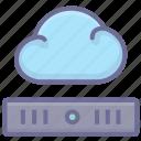 cloud, hosting, server, vps icon