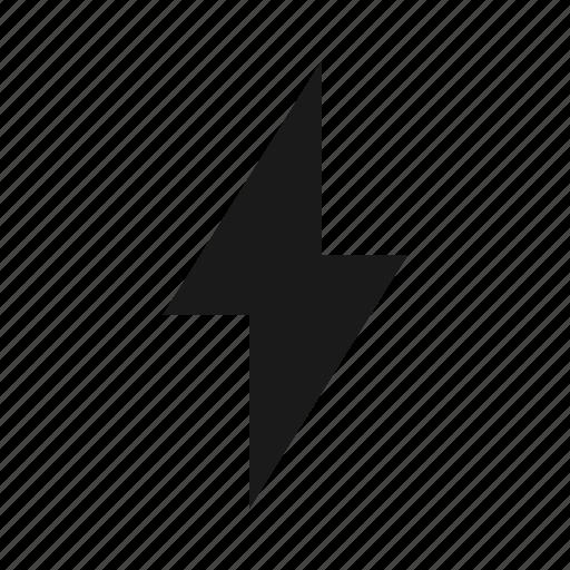 bolt, fast, lightning, processing icon