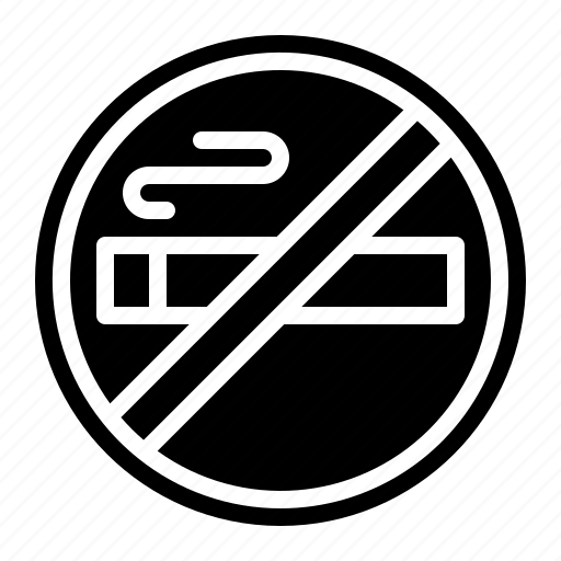 Forbidden, no, prohibition, signaling, smoking, warming icon - Download on Iconfinder