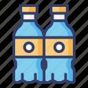 bottle, water, drink
