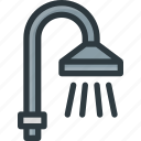 bath, shower, wash, water icon
