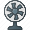 air, conditioner, cooler, electonic, fan, ventilate icon