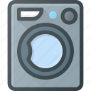 loundry, machine, wasshing icon