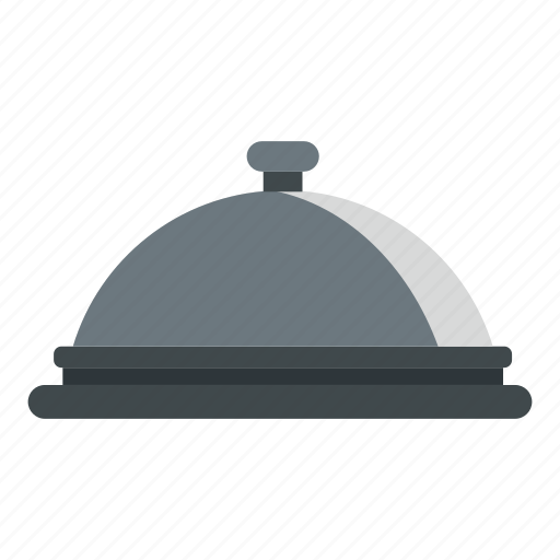 Cloche, dish, hand, hotel, restaurant, travel, tray icon - Download on Iconfinder
