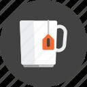 break, coffee, happy, relax, tea, beverage, cup icon