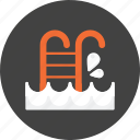 pool, service, swimming, swimming pool, holiday, hotel, travel icon