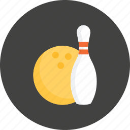 bowling, bowling pins, happy, music, play, player, sport icon