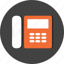 hotel, phone, service, telephone, transportation, travel, vacation icon