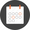 business, calendar, date, money, plan, save, schedule icon