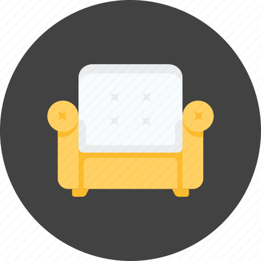bed, chair, furniture, hotel, room, sofa, travel icon