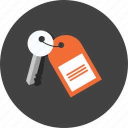 access, enter, key, protect, protection, room, unlock icon