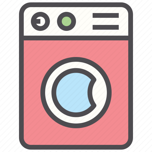 cleaning, cloth, dirty, hotel, laundry, washing machine icon