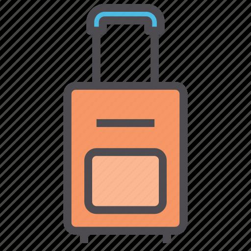 bag, baggage, hotel, luggage icon