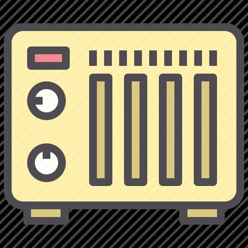 control, heater, hotel, temperature icon