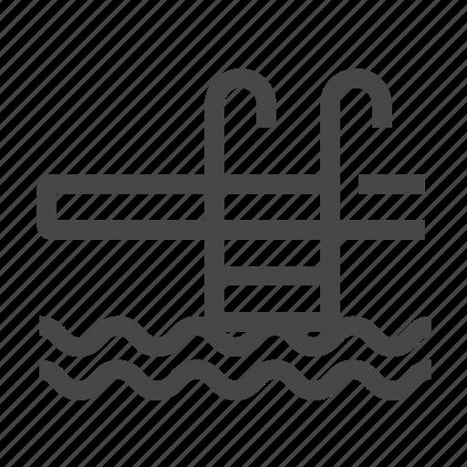 pool, swimming icon