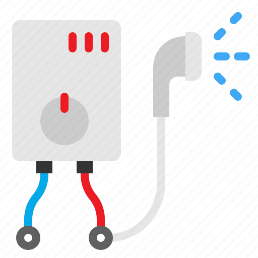 bath, heater, shower, water icon