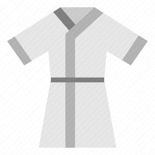 Robe, fashion, clothing, bathrobe, wear icon
