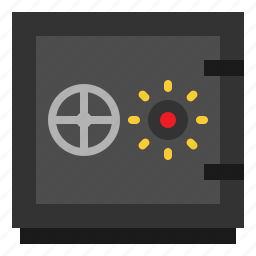 box, lock, safe, security icon