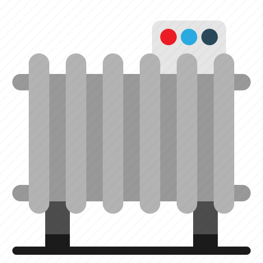 heater, heating, hot, temperature icon