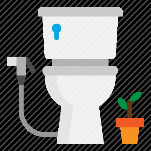 Toilet, bathroom, wc, restroom icon