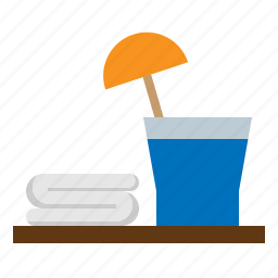 cold, drink, juice, soft, welcome icon