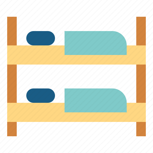 Beds, bunk, bedroom, bed, furniture icon - Download