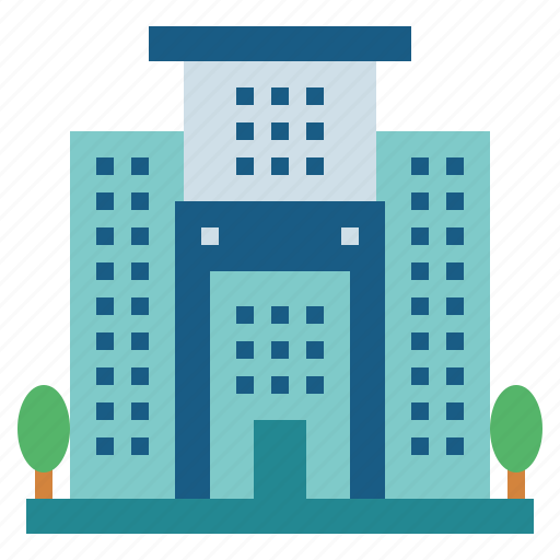 Buildings, hotel, vacations, hostel icon