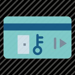 card, key, keys, security icon