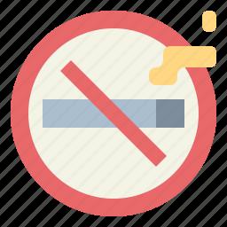 cigarette, no, signaling, smoke, smoking icon