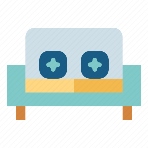 Sofa, furniture, couch, relax icon