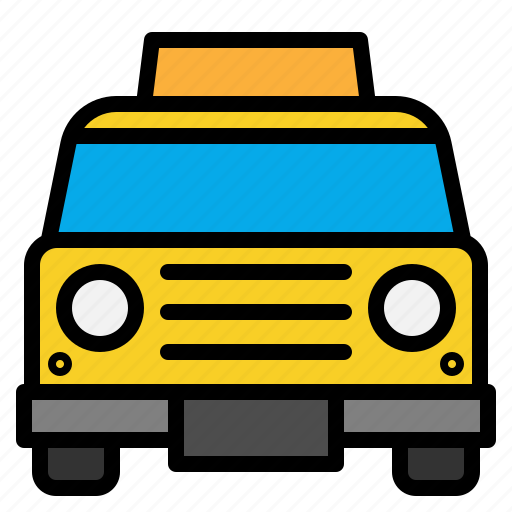 cab, car, taxi, transportation icon