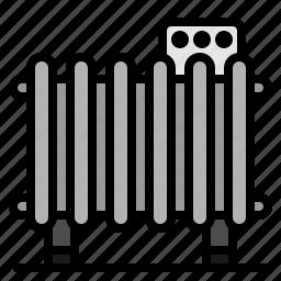 heater, heating, hot, temperature icon